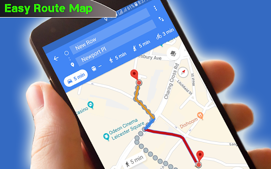 navigation route maps gps path finder