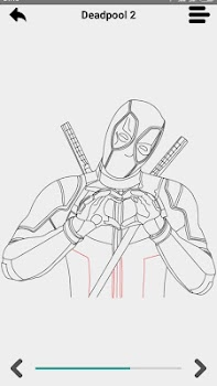 Learn  to draw Super Hero 3D step by step