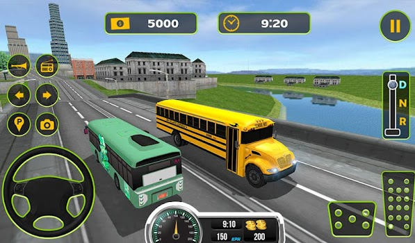 School bus driving 2017