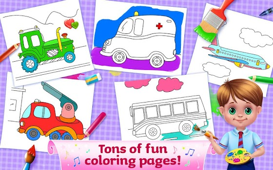 The Wheels on the Bus - Learning Songs & Puzzles