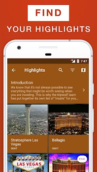 Las Vegas Travel Guide by tripwolf Travel Local Category 18