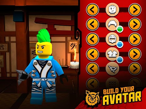 THE LEGO® NINJAGO® MOVIE™ app - by LEGO System A/S - Action Games ...