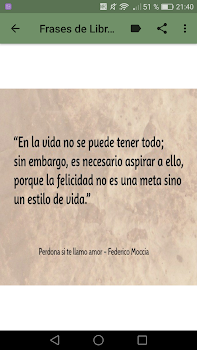 Frases De Libros De Amor By New Generation Apps Android
