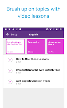 Best 10 act test prep apps appgrooves act test prep practice and flashcards fandeluxe Images