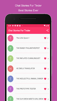 Chat Stories For Tinder