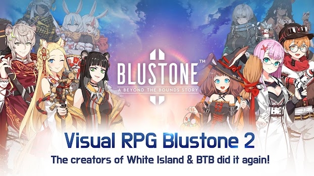 Blustone 2 - Anime Battle and ARPG Clicker Game