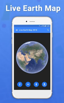 Live Earth Map 2018 Satellite View Gps Tracker By Photo Video