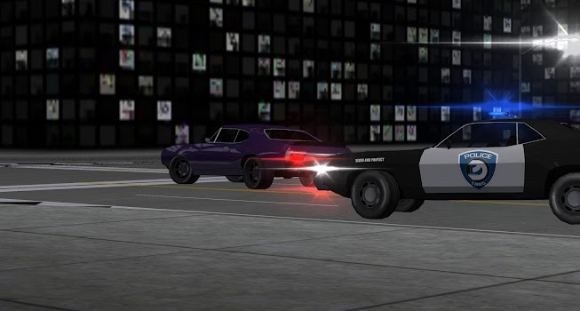 Cop Chase Live Wallpaper