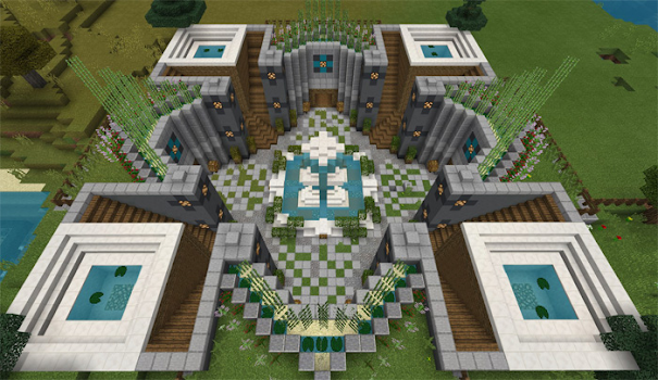 Smart Modern House Map for Minecraft PE by KaliLaska