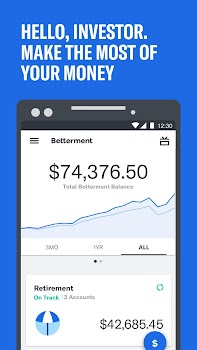 Betterment: Money Management and Financial Advisor