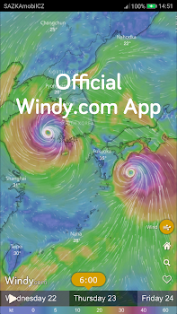Windy: wind, waves and hurricanes forecast