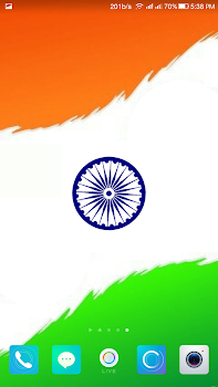 Indian Flag Live Wallpaper By Jazzy Worlds Lifestyle Category