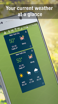 WeatherBug Widget