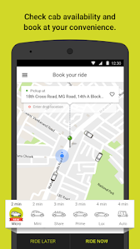 Ola. Get rides on-demand