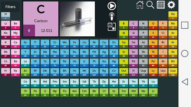 Best 10 apps for the periodic table of elements appgrooves periodic table urtaz Gallery