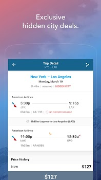 Skiplagged — Exclusive Flights & Hotels