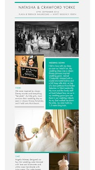 Hyatt Weddings for Tablets