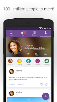 MeetMe: Chat & Meet New People - by MeetMe.com - #1 App in Meet New People  - Social Category - 36 Features, 6 Review Highlights & 1,354,044 Reviews ...