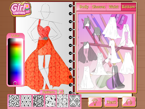 Fashion Studio Prom Dress - by Girl Games Net - Casual Games ...
