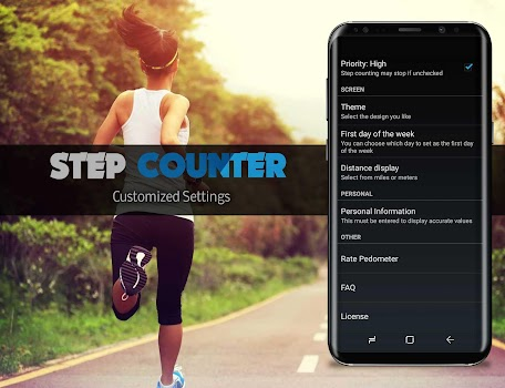 Step Counter & Calories Burner-Pedometer