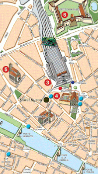 Florence Tourist Map by WONDEREVER Maps Navigation Category