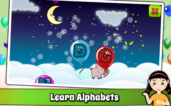 Balloon Pop Kids Learning Game Free for babies 🎈