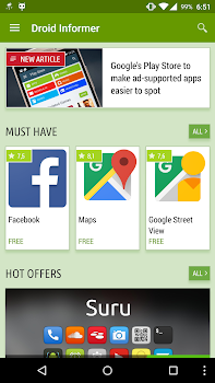 Droid Informer - by Informer Technologies  - Social Category - 7,825