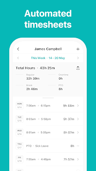 ATTO Timesheets: Time & GPS Tracking for Employees